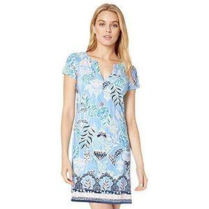 Lilly Pulitzer Sophiletta Blue Mini Dress UPF 50 S